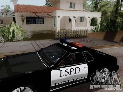 Elegy Police LS для GTA San Andreas вид сзади слева