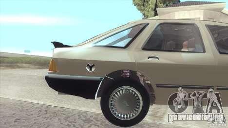 Ford Sierra для GTA San Andreas вид справа