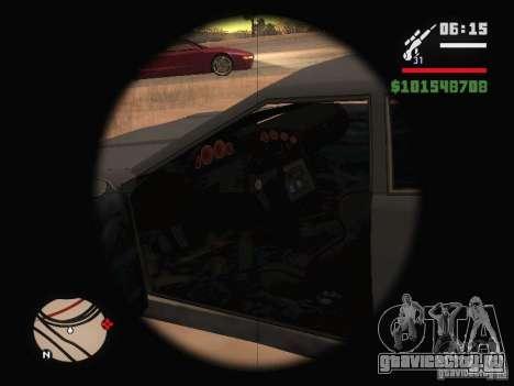 Новая Elegy для GTA San Andreas вид сверху
