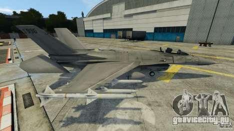 Fighterjet для GTA 4 вид слева