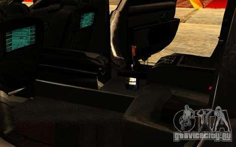 Maybach 62 для GTA San Andreas салон