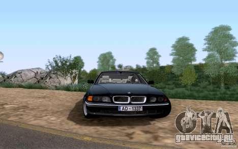 BMW 730i E38 для GTA San Andreas вид слева