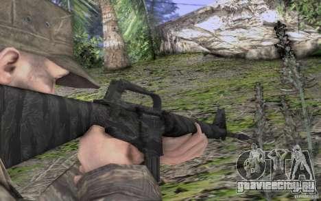 M16A1 Vietnam war для GTA San Andreas четвёртый скриншот