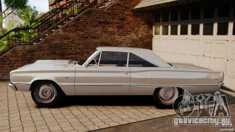 Dodge Coronet 1967 для GTA 4 вид слева