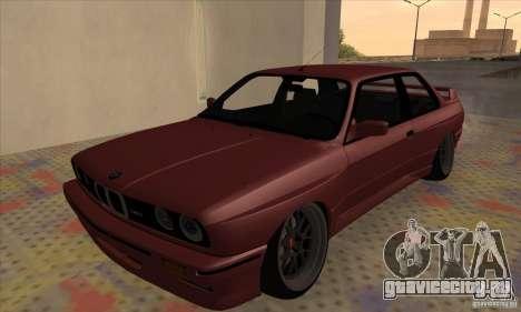 BMW M3 E30 1990 для GTA San Andreas