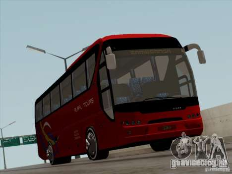 Neoplan Tourliner. Rural Tours 1502 для GTA San Andreas вид сверху