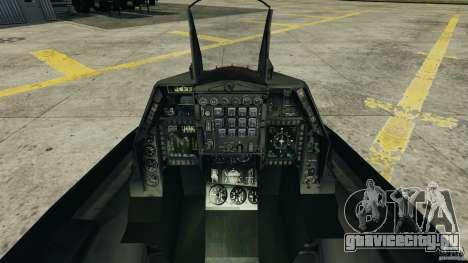 Fighterjet для GTA 4 вид справа