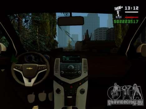 Chevrolet Cruze для GTA San Andreas вид сбоку