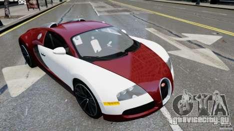 Bugatti Veyron 16.4 v1.0 wheel 1 для GTA 4 вид сзади слева