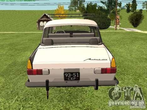 АЗЛК 412 для GTA San Andreas вид справа