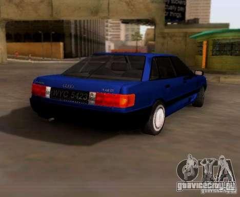 Audi 80 B3 для GTA San Andreas вид справа
