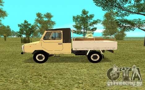 ЛуАЗ 13021 для GTA San Andreas вид слева