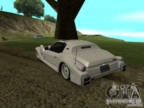 Mitsuoka Le-Seyde для GTA San Andreas вид сзади слева