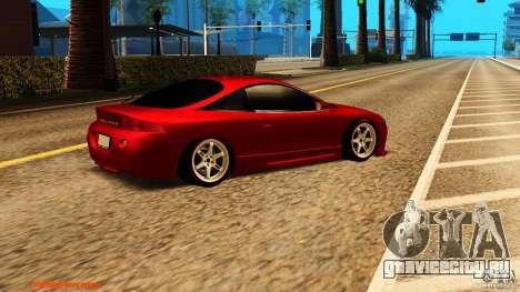 Mitsubishi Eclipse 1998 для GTA San Andreas вид справа