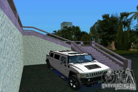 Hummer H2 SUT Limousine для GTA Vice City