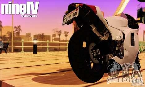 Ducati Desmosedici RR 2012 для GTA San Andreas вид справа