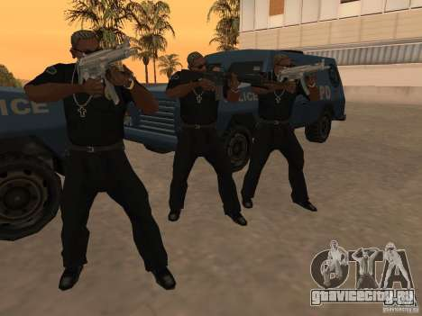 M4A1 from Left 4 Dead 2 для GTA San Andreas