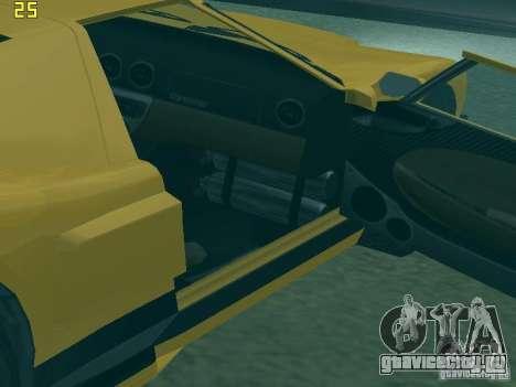 Bullet из GTA TBoGT IVF для GTA San Andreas вид сзади