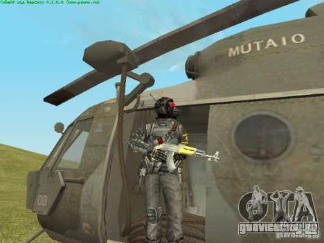 Ми-8 МТВ для GTA San Andreas вид сбоку