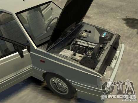 FSO Polonez Atu для GTA 4 вид снизу