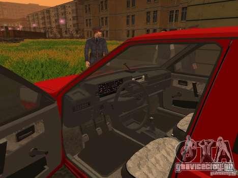 ВИС 2347 для GTA San Andreas вид сзади