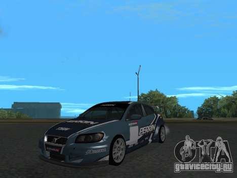 Volvo C30 Race для GTA San Andreas вид справа