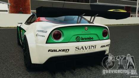Alfa Romeo 8C Competizione Body Kit 1 для GTA 4 вид сзади слева