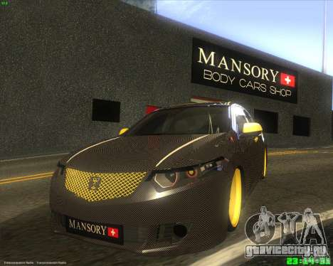 Honda Accord Mansory для GTA San Andreas