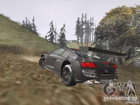 Audi R8 LMS v3.0 для GTA San Andreas вид слева