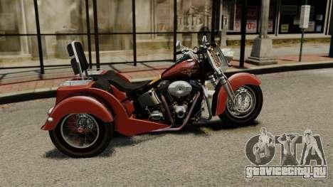 Harley-Davidson Trike для GTA 4 вид слева