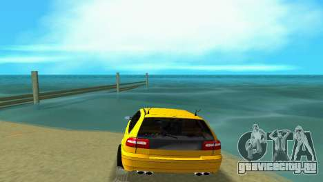VOLVO V40 для GTA Vice City вид сзади слева