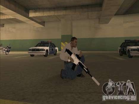 Chrome Weapons Pack для GTA San Andreas третий скриншот