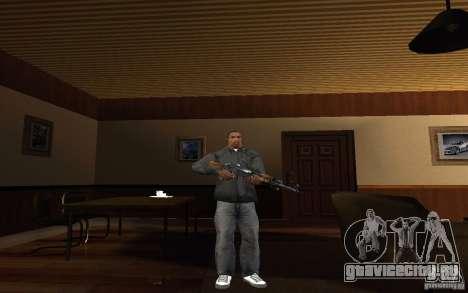 AK-47 из игры Left 4 Dead для GTA San Andreas второй скриншот