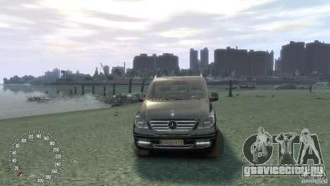 Mercedes-Benz Vito 2013 для GTA 4 вид справа