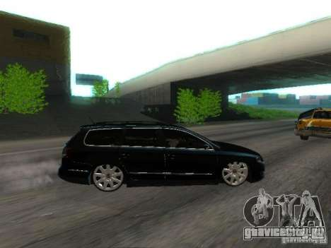 Volkswagen Passat B6 Variant Com Bentley 20 Fixa для GTA San Andreas вид изнутри