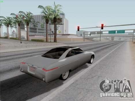 Ford Fortynine для GTA San Andreas вид сзади