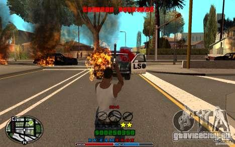 Cleo HUD by Cameron Rosewood V1.0 для GTA San Andreas шестой скриншот
