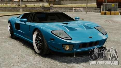 Ford GTX1 2006 для GTA 4