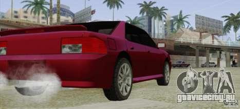 Sultan SRX для GTA San Andreas вид сзади слева