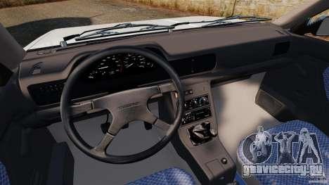 Daewoo-FSO Polonez Caro Plus 1.6 GSI 1998 Final для GTA 4 вид сзади слева