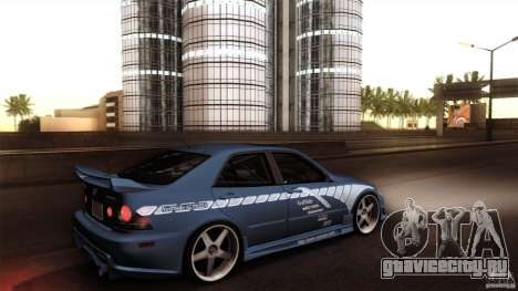 Lexus IS 300 Veilside для GTA San Andreas вид справа