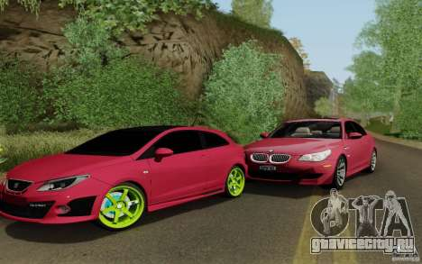 Seat Ibiza Cupra для GTA San Andreas вид слева
