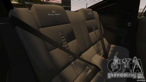Saleen S281 Extreme Unmarked Police v1.5 для GTA 4 вид сбоку
