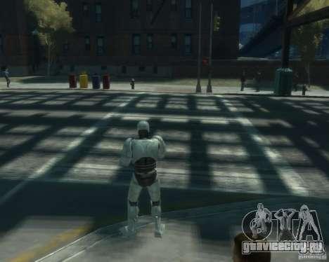 Скин Робокопа для GTA 4 третий скриншот