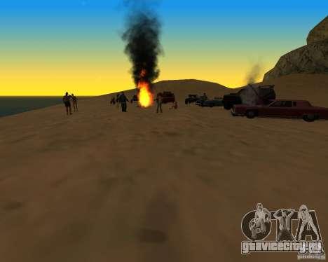 Пляжная вечиринка для GTA San Andreas второй скриншот