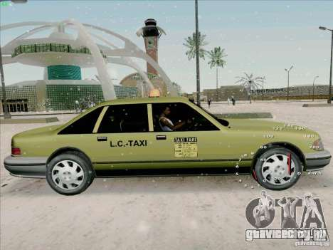 HD Taxi SA из GTA 3 для GTA San Andreas вид сзади слева