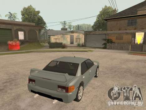 Sultan Impreza v1.0 для GTA San Andreas вид сзади слева