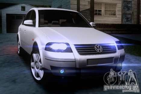 Volkswagen Passat B5 для GTA San Andreas вид сбоку