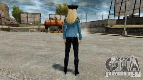 Новые девушки-полицейские v4.0 для GTA 4 четвёртый скриншот