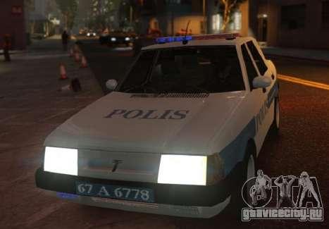 Tofas Sahin Turkish Police ELS для GTA 4
